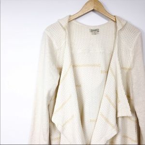 Lucky Brand Thermal Knit Hooded Sweater